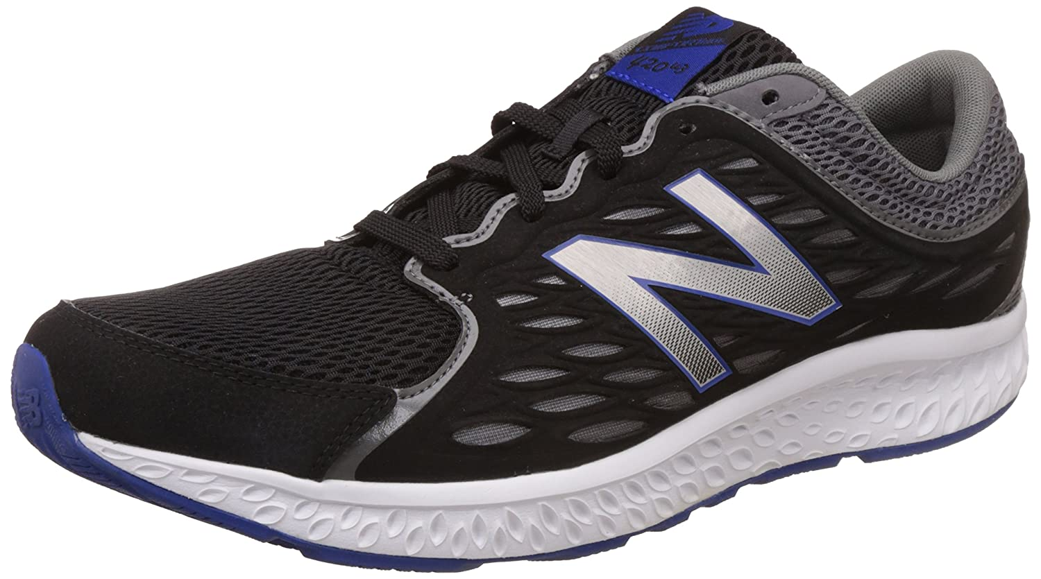 TALLA 40.5 EU. New Balance 420, Zapatillas para Hombre, Negro (Black/Grey), 40.5 EU (7 UK)