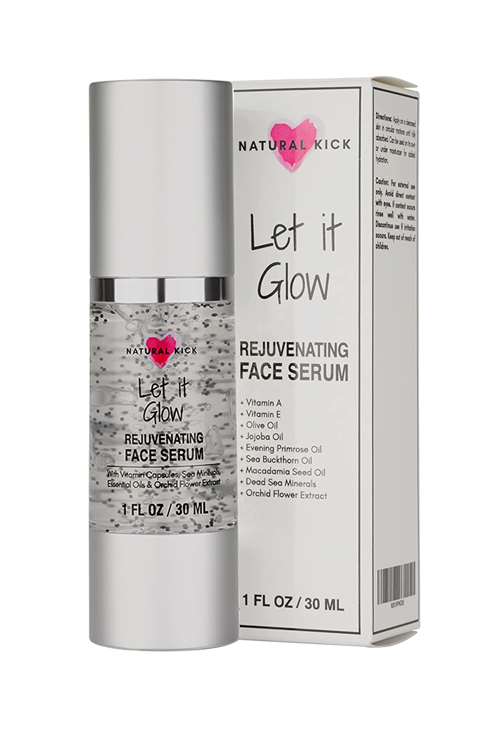 Natural Kick Let It Glow Rejuvenating Facial Serum
