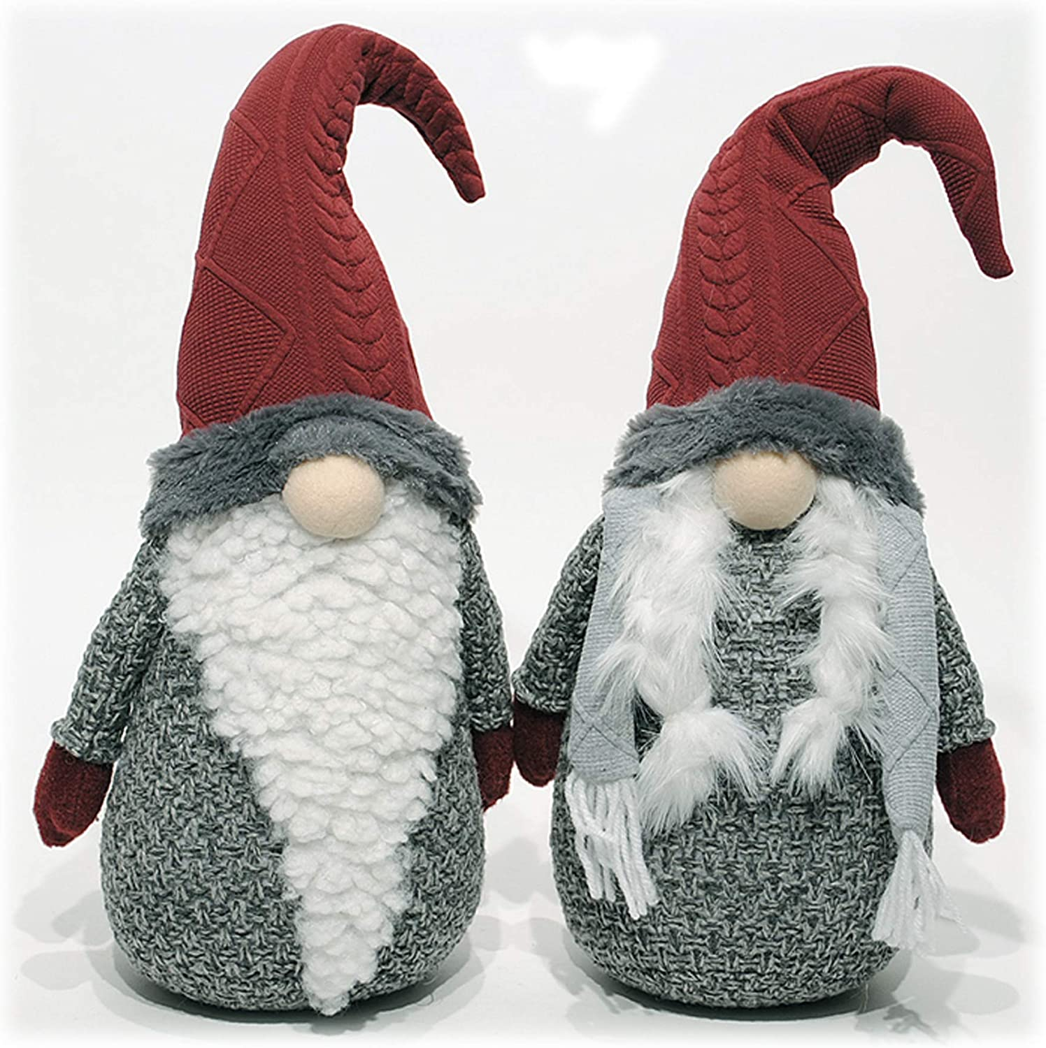 Top Hat Primitive White Penguin Figure Holiday Christmas Tree Ornament Gift Set