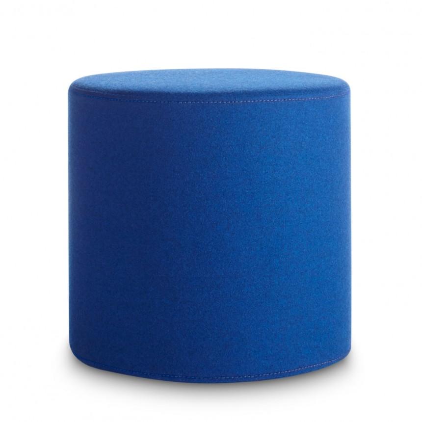 Bumper Small Ottoman - Round Fabric Ottomans | Blu Dot