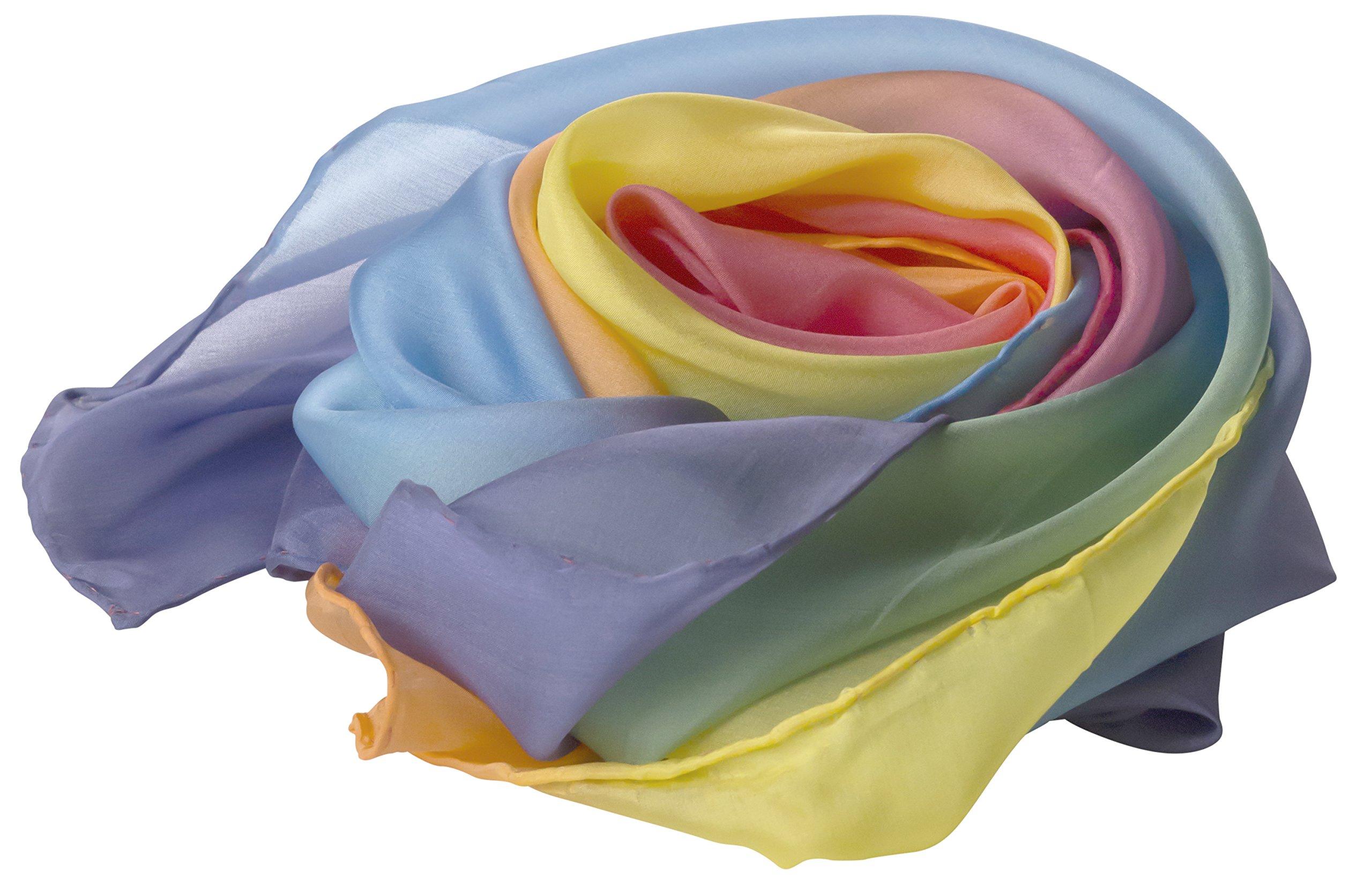 Sarah's Silks Rainbow Playsilk