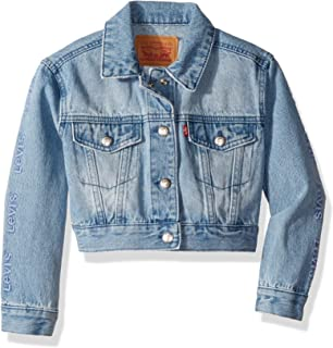 Levis Baby Girls Denim Trucker Jacket at Amazon Womens ...