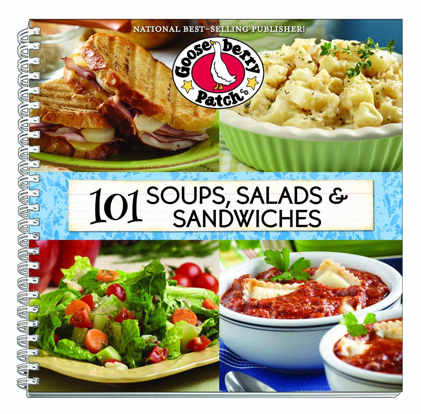 101 Soups, Salads & Sandwiches (101 Cookbook Collection): Gooseberry Patch:  9781612810331: Amazon.com: Books