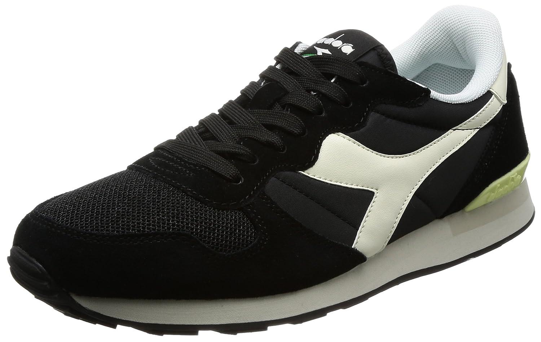 Diadora Camaro, Zapatillas de Gimnasia para Hombre 40 EU|Negro (Nero/Bianco Sospiro)