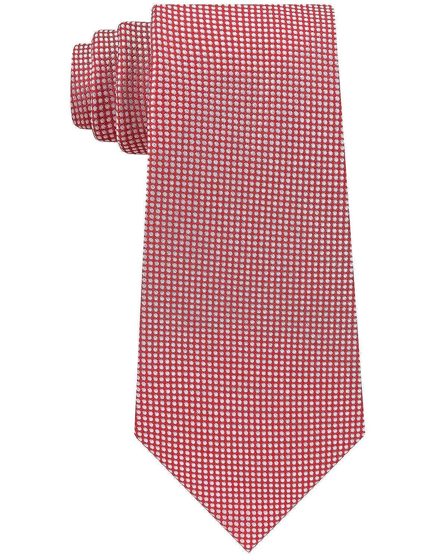 Tommy Hilfiger Sporty - Corbata de seda, diseño de microcuadrícula ...