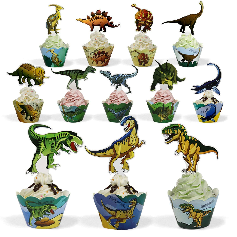 Amazon.com: BeeGreen Dinosaurio suministros de fiesta ...