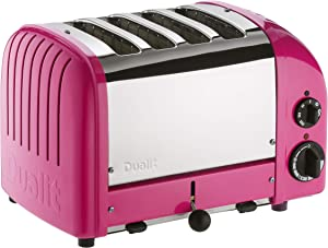 Dualit 4 Slice Classic Toaster, Chilly Pink