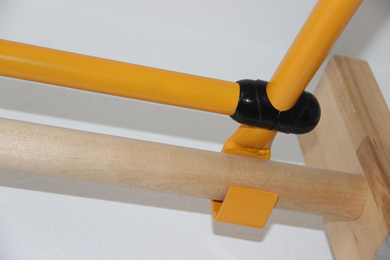 Klettergerüst Niro Sport : Klimmzugstange für sprossenwand zusammenklappbar klimmzugbügel