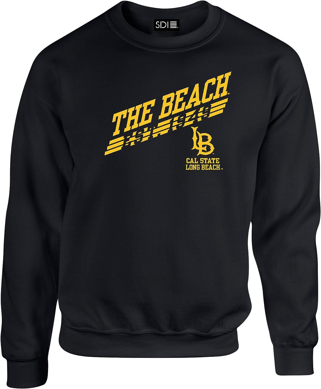 bl LARGE Long Beach State 49Ers 50//50 Blended 8 oz Crewneck Sweatshirt