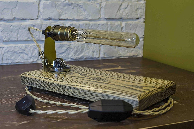 Table Lamp Pride/&Joy desk lamp wooden lamps unique lights home decor lighting decorative office lamps room decor lights dimmer gifts bedside cute lamp accent unique lamp