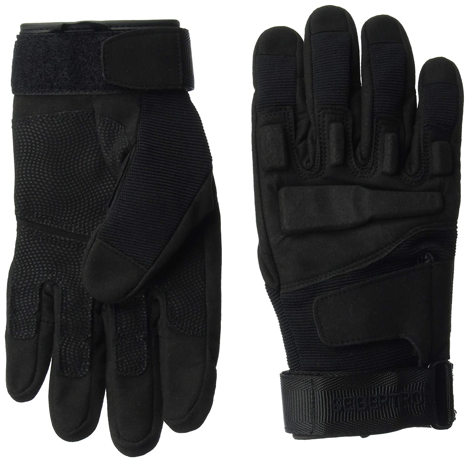 Black leather combat gloves - Amazon Com Seibertron Men S S O L A G Special Ops Full Finger Tactical Gloves Sports Outdoors