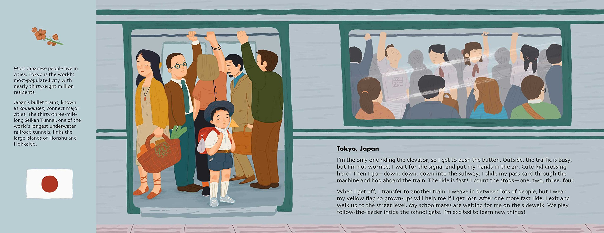 Adventures to School: Real-Life Journeys of Students from Around the World by little bee books (Image #9)