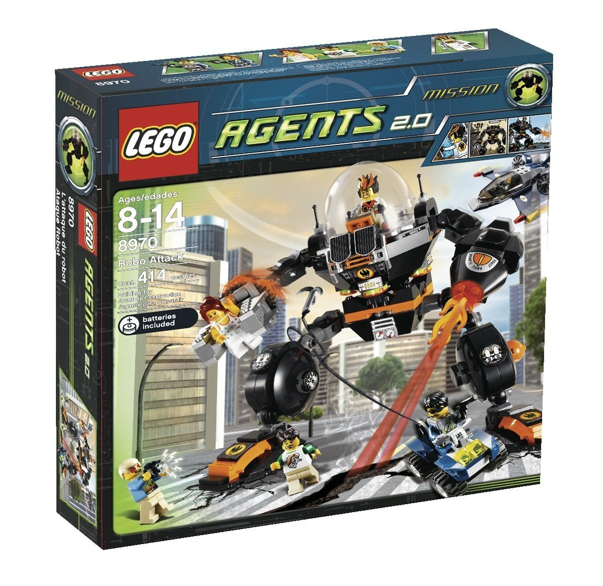 LEGO Agents 8970 - Roboterangriff