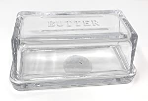 Butter Dish Glass Clear by Hearth and Hand with Magnolia