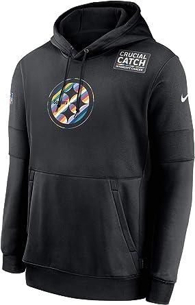 Pittsburgh Steelers Football Fan/'s Hoodie Fleece Coat winter Jacket Sweatshirt B