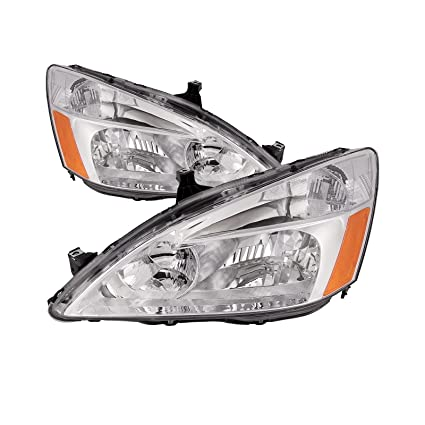 Amazon Com Headlights Depot Replacement For Honda Accord Sedan