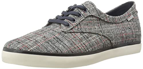 HUF Men's Sutter Athletic Shoe, Navy/Textile, ...