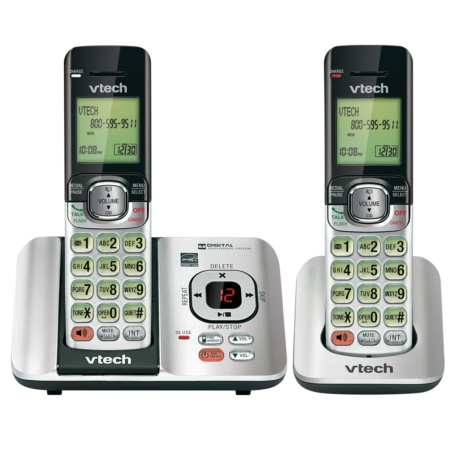 VTech CS6529-2 DECT 6.0 Phone Answering System with Caller ID/Call Waiting,... 692624158047   eBay