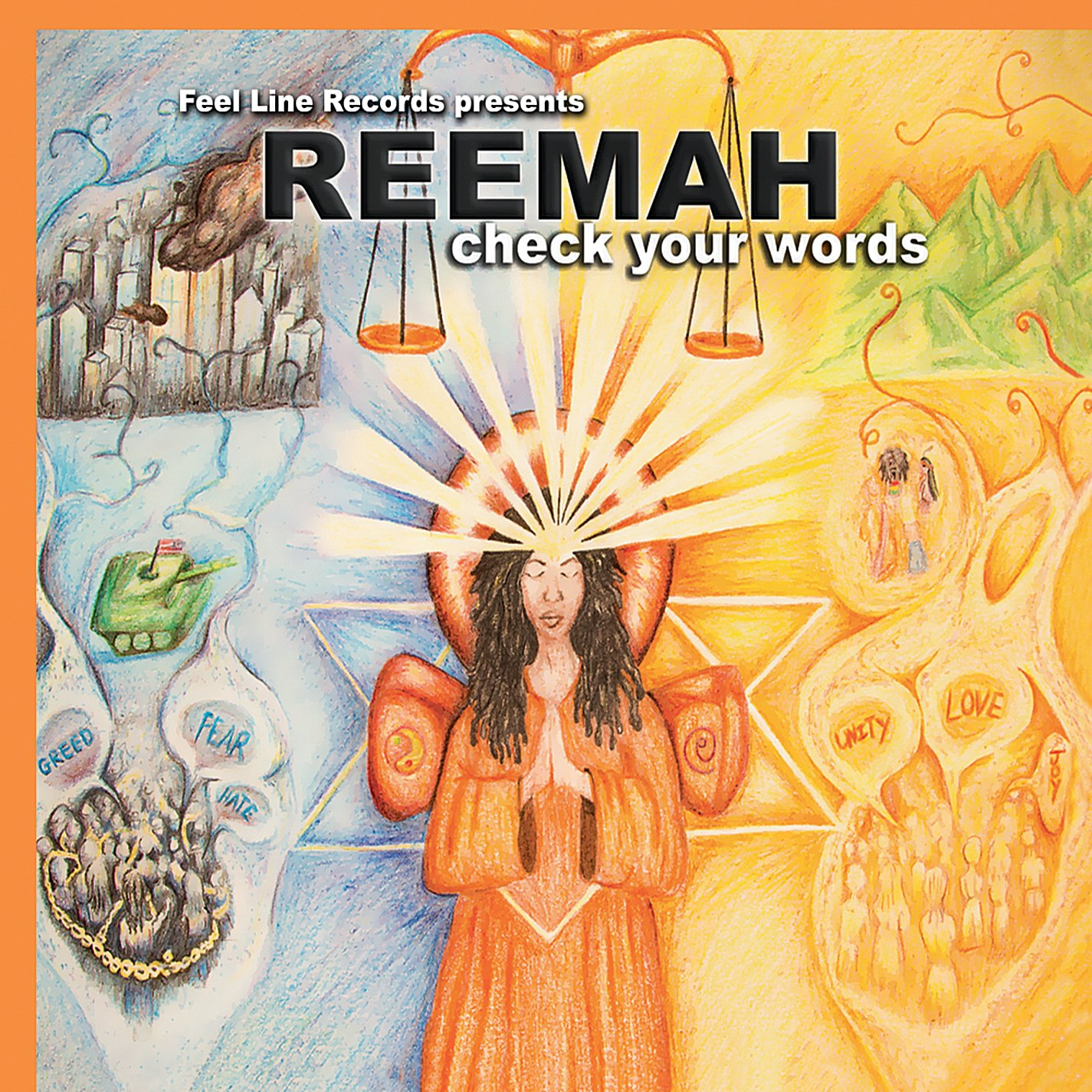 reemah check your words