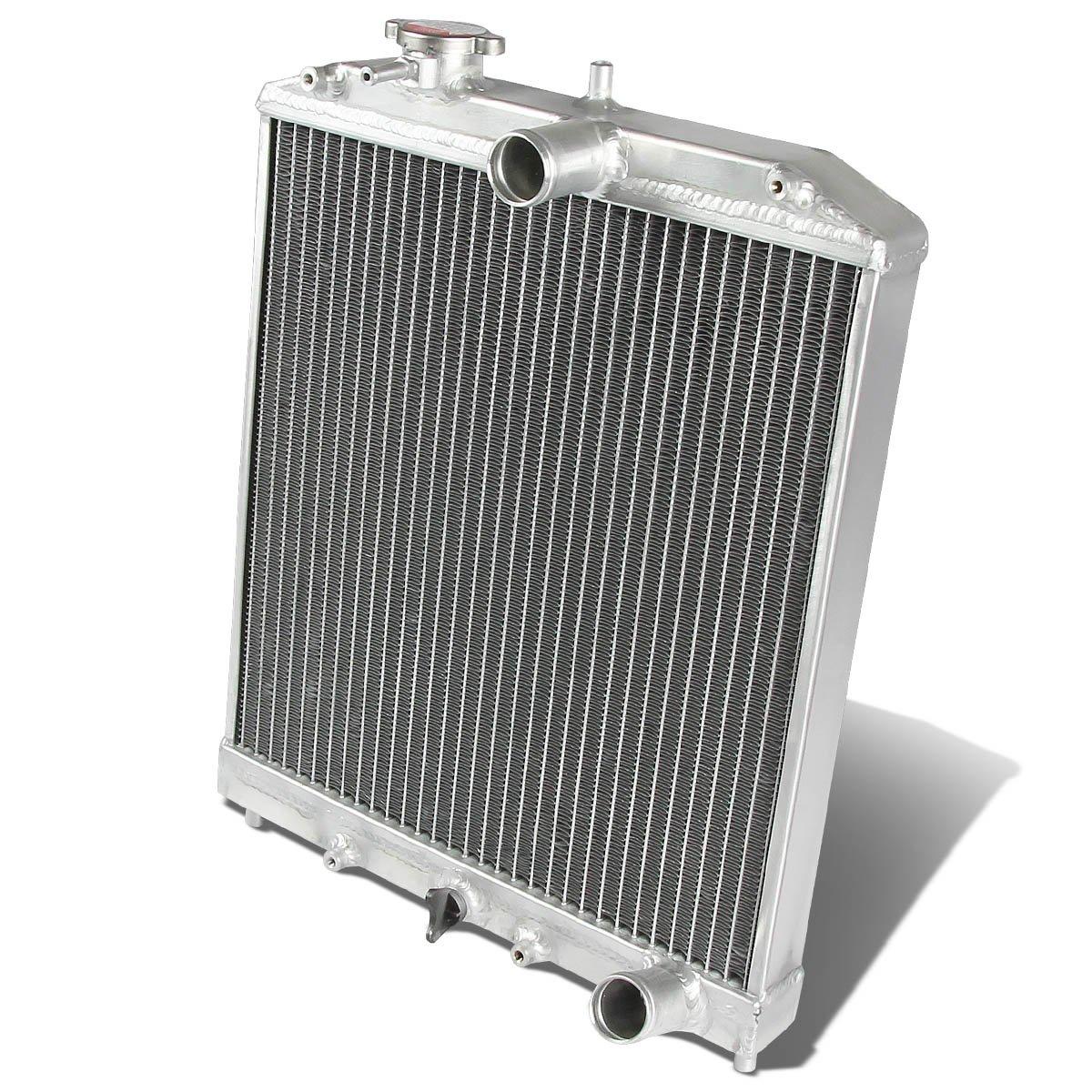 DNA MOTORING RA-HC92-42-2 Honda D15/16/B18 1.5L/1.6L/1.8L I4 Mt 2-Row Dual/Double Core T-6061 Aluminum Radiator