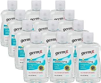12-Pack Germ-x Hand Sanitizer 8 Fl Ounce