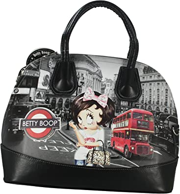 Betty Boop Bus Barrel Bag Sac porté main pour Femme Fille