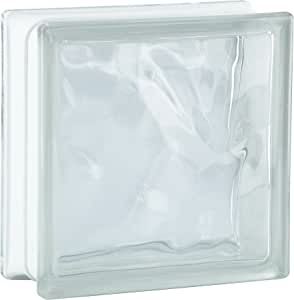 6 piezas BM bloques de vidrio nube SUPER white 19x19x8 cm: Amazon.es: Bricolaje y herramientas