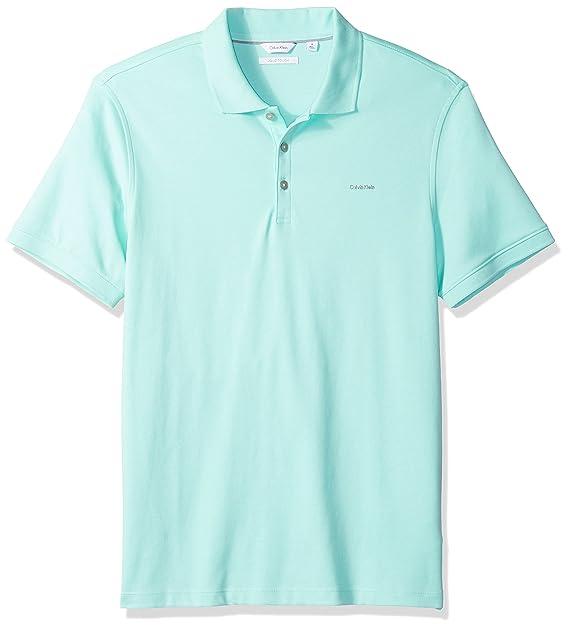 Calvin Klein Playera Tipo Polo para Hombre  Amazon.com.mx  Ropa ... d1a6fe54c0747