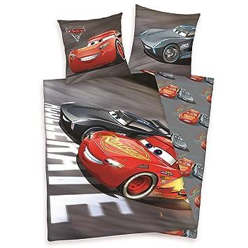 Herding Disney Cars 3 Bettwäsche Set Wendemotiv Bettbezug 135 X