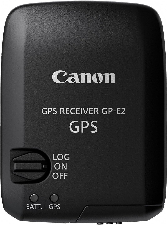 Canon GP-E2 GPS - Módulo Receptor GPS para Canon EOS-1D X, Canon EOS 7D, Canon EOS 5D Mark III, Negro