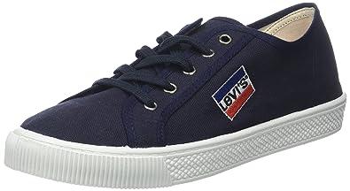 Levi's Herren Malibu Sneaker, Schwarz (Noir Regular Black), 41 EU
