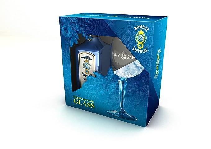 6 opinioni per Bombay Gin Sapphire con 1 Bicchiere Balloon in Omaggio- Bottiglia da 700 ml