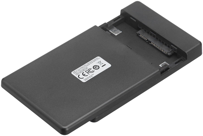 AmazonBasics - Caja para disco duro SATA, 2,5 pulgadas (6,35 ...