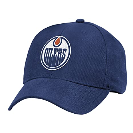 half off 08149 433c0 Image Unavailable. Image not available for. Color  NHL Edmonton Oilers  Basics Structured Adjustable ...