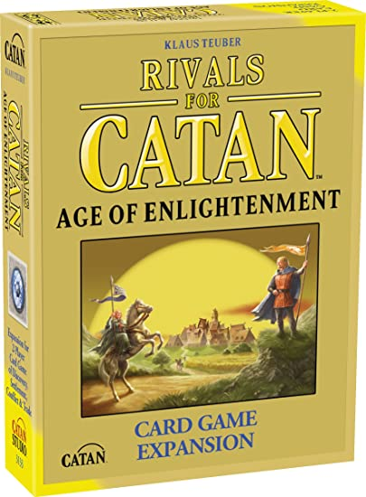 Rivals For Catan: Age Of Enlightenment Expansion - Juego de Cartas, 2 Jugadores (Mayfair Games MFG3133) [Importado de Inglaterra]: Amazon.es: Juguetes y juegos
