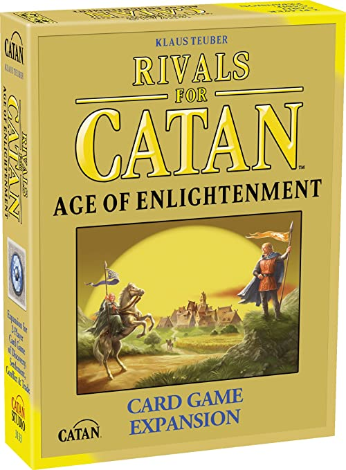 Rivals For Catan: Age Of Enlightenment Expansion - Juego de Cartas, 2 Jugadores (Mayfair Games MFG3133) [Importado de Inglaterra]: Amazon.es: Juguetes y juegos