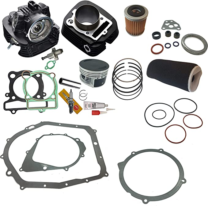 Tusk Top End Gasket Kit Set YAMAHA GRIZZLY WARRIOR WOLVERINE 350 head gaskets