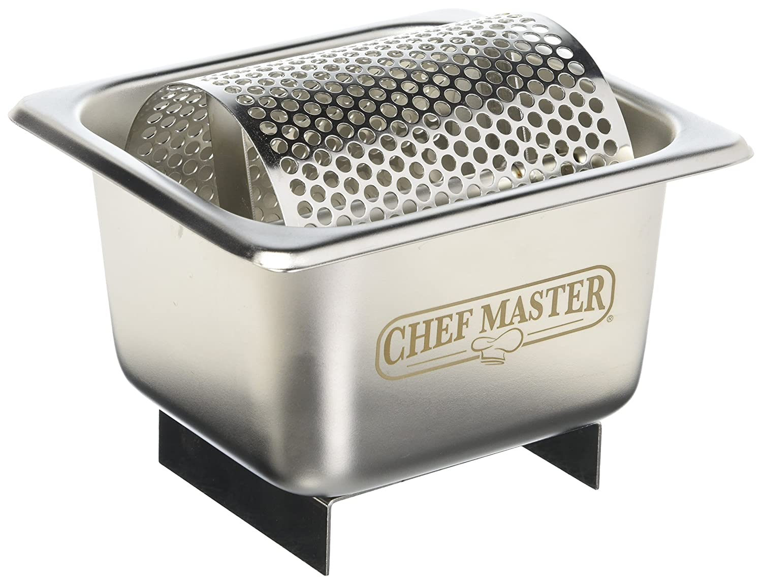 Chef-Master 90021 Stainless Steel Butter Spreader, Silver