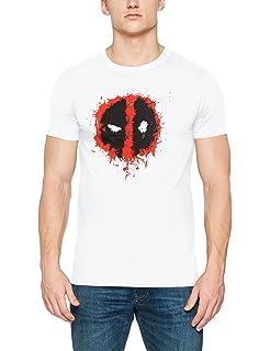 124deaae7b747 Marvel Deadpool-Camiseta Hombre  Amazon.es  Ropa y accesorios