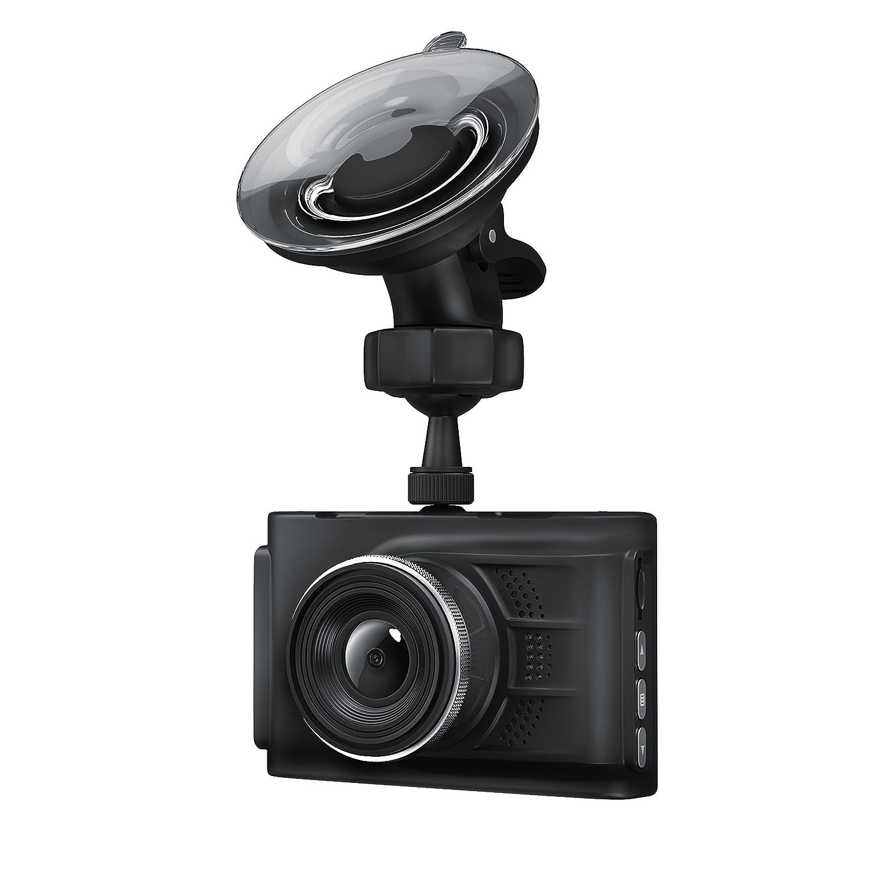CSL - Dashcam in Full HD | Autokamera mit 150° Weitwinkelobjektiv | Loop Recording | G-Sensor | Fotomodus | Bewegungserkennung CSL-Computer 7302627
