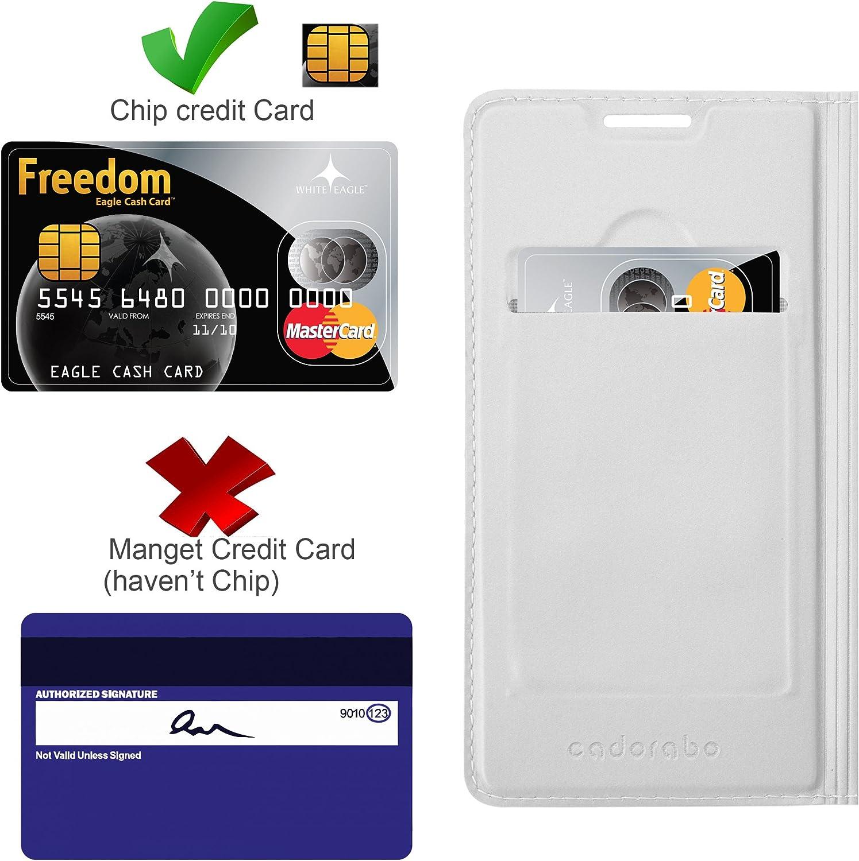 Portefeuille Etui Poche Folio Case Cover Housse Protection avec Fermoire Magn/étique Cadorabo Coque pour Sony Xperia XZ1 en Classy Or ROS/É Stand Horizontal et Fente Carte
