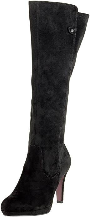 s.Oliver Women's's 5 5 25506 21 001 High Boots, (Black 1), 8