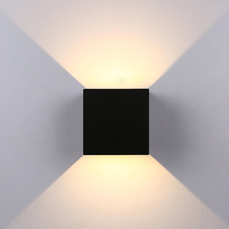 GHB 7W Applique Murale de LED de Qualité Lampe de Mur Anti Eau