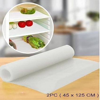 Viva Durable Eva Plastic Anti-Slip Mat / Sheet For Kitchen, Shelf, Drawer, Liner (45 X 125 cm ),Transparent (2 Piece Set)