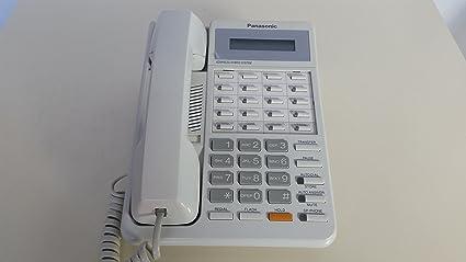 amazon com panasonic kx t7030 kx t7030 w 12 button display rh amazon com Panasonic Hybrid System Technical Support Panasonic KX- TA824