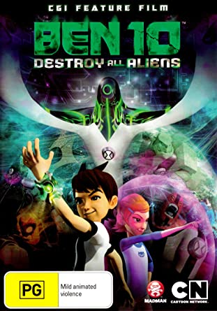 Amazon com: Ben 10 - Destroy all Aliens [Cgi Feature Film