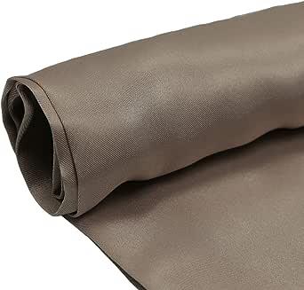 Silk Stan Fabric, 44 Inch x 25 Yard, Brown