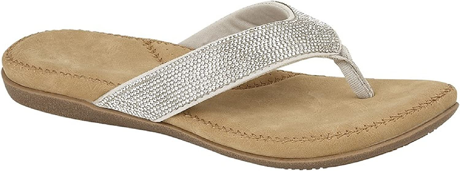 Cipriata Womens//Ladies Alcee Diamante Sandals