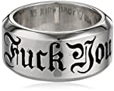 King Baby New Men's Fuck You Ring, Size 12