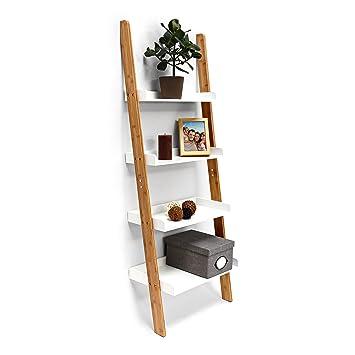 estilo escalera de bambuuacute con